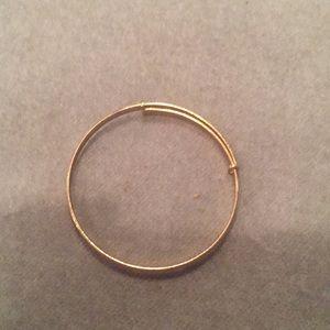 Jewelry - 14-Karat Yellow Gold Filled Baby Bangle Bracelet